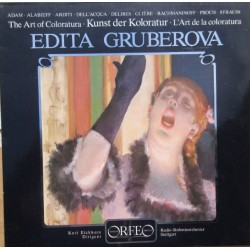 Edita Gruberova: The Art of Coloratura. Adam, Delibes, Gliere, Rachmaninov. 1 LP. Orfeo