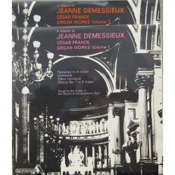 A tribute to Jeanne Demessieux. Cesar Franck: Organ Works vol. 1 & 2. 2 LP. Decca