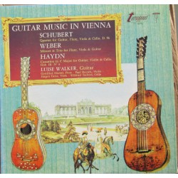 Guitar music in Vienna. Schubert, Weber, Haydn. Luise Walker (guitar). 1 LP. Turnabout