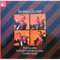 Donizetti & Rossini: String Quartets. Benthien Quartet. 1 LP. BASF