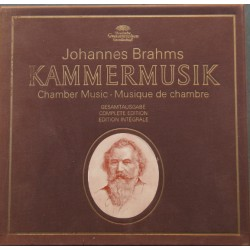 Brahms: Chamber music. Complete edition. 15 LP. DG