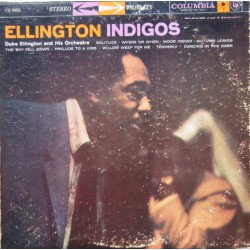 Duke Ellington and his Orchestra. Indigos. 1 LP. Columbia. CS 8053