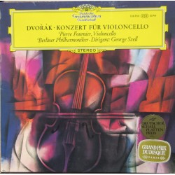 Dvorak: Cello Concerto. Pierre Fournier, Berliner Philharmoniker, George Szell. 1 LP. DG
