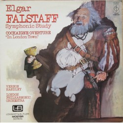 Elgar: Falstaff + Cockaigne overture. Vernon Handley, London Philharmonic. 1 LP. EMI