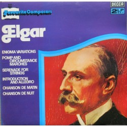 Elgar: Enigma Variations, Pomp and Circumstance march nos. 1-5, etc. Adrian Boult. 2 LP. Decca