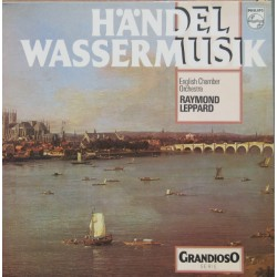 Handel: Water-music. Raymond Leppard, English Chamber Orchestra. 1 LP. Philips