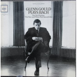 Bach: 6 Partitas + The Two and Three part Inventions, Glenn Gould. 3 LP. CBS