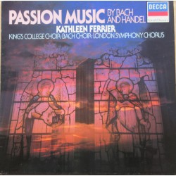Bach & Handel Passion Music. Kathleen Ferrier, King's College Choir, LSO Choir. 1 LP. Decca