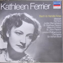 Kathleen Ferrier. Bach and Handel Arias. Sir Adrian Boult, LPO. 1 LP. Decca