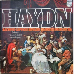 Haydn: Symphonies nos. 26, 34, 77. Raymond Leppard, English Chamber Orchestra. 1 LP. Philips