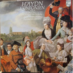 Haydn: Symphonies nos. 22, 39, 47. Raymond Leppard, English Chamber Orchestra. 1 LP. Philips