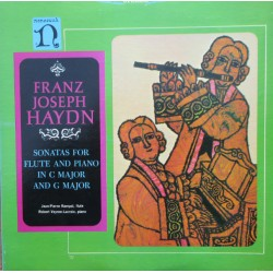 Haydn: Sonatas for flujte and piano in C and G major. Rampal. Veyron-Lacroix. 1 LP. Nonesuch