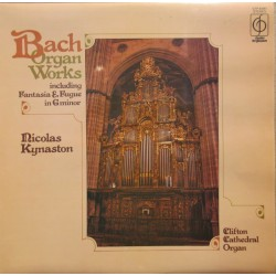 Bach: Organ Works. Toccata & Fugue BWV 540, 542, 544, 577. 1 LP. EMI