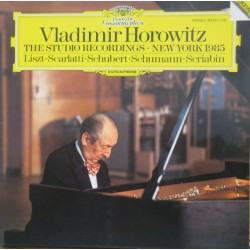 Vladimir Horowitz: The Studio Recordings. - New York 1985. 1 LP. DG