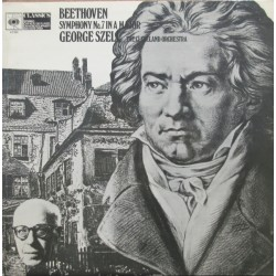 Beethoven: Symfoni nr. 7. George Szell, Cleveland Orchestra. 1 LP. CBS