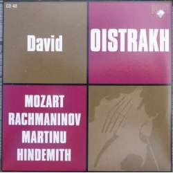 Mozart: Violinsonate K 306. & 12 variationer. David Oistrakh, Paul Badura-Skoda. 1 CD. Russian Archives