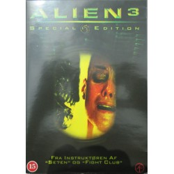 Alien 3. Sigourney Weaver. Special Edition. 1 DVD. Science-Fiction