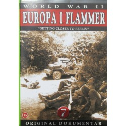 Europa i flammer. Getting closer to Berlin. 1 DVD
