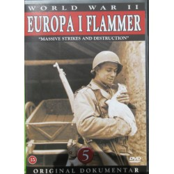 Europa i flammer. Massive strikes and destructions. 1 DVD
