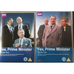 Yes Prime minister. Complete. 2 DVD. BBC