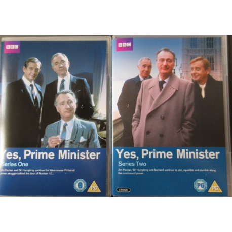 Yes Prime minister. Complete. 3 DVD. BBC