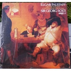 Elgar: Falstaff + in the South. Georg Solti, London Philharmonic Orchestra. 1 LP. Decca. SXL 6963