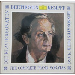 Beethoven: All 32 piano Sonatas. Wilhelm Kempff. 11 LP. DG