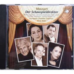 Mozart: Skuespilsdirektøren. K486. Prey, Sans. Nicol Matt. 1 CD. Brilliant Classics. 93184