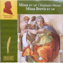 Mozart: Trinitatis messe. + Missa Brevis. K140. Nicol Matt. 1 CD. Brilliant Classics