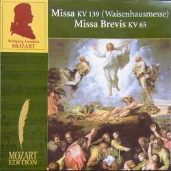 Mozart: Waisenhausmessen. Nicol Matt, Southwest German CO. 1 CD. Brilliant Classics