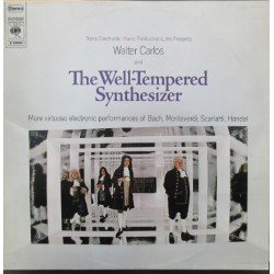 Walter Carlos. The Well-Tempered Synthesizer. Bach, Monteverdi, Scarlatti. Handel.. 1 LP. CBS