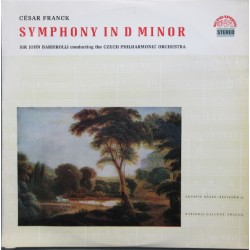 Franck: Symphony in D-minor. Sir John Barbirolli, Czech Philharmonic. 1 LP. Supraphon