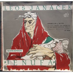 Janacek: Jenufa. Soloists, chorus and orchestra of the Prague National Theatre. Jaroslav Vogel. 3 LP. Supraphon