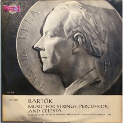 Bartok: Music for strings, Percussion and celesta. Gyorgy Lehel. Hungarian Radio Symphony Orchestra. 1 LP. Qualiton