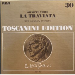 Verdi: La Traviata. Arturo Toscanini, NBC SO. Albanese, Peerce, Merrill. 2 LP. RCA