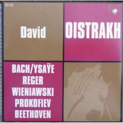 David & Igor Oistrakh spiller Bach, Beethoven, Prokofiev. 1 CD. Russian Archives