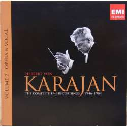 Operatic arias by Offenbach, Gounod, Ponchielli, Puccini, Verdi. etc. Karajan. 1 CD. EMI