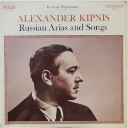 Alexander Kipnis: Russian Arias and songs. 1 LP. RCA