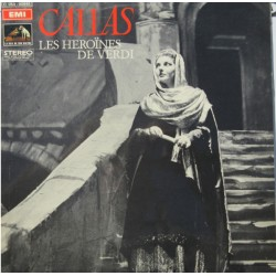 Callas: Les Heroines de Verdi. Arias from Macbeth, Nabucco, Ernani og Don Carlo. 1 LP. EMI