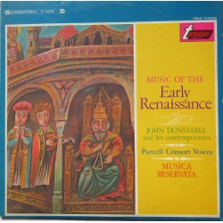 Early Renaissance. John Dunstable and his contemporaries. 1 LP. Turnabout