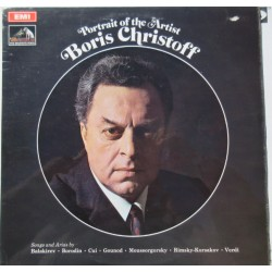 Boris Christoff: Songs and arias by Balakirev, Borodin, Cui, Mussorgsky, Rimsky-Korsakov, Verdi. 1 LP. EMI. ASD 2559