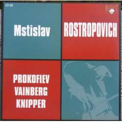 Prokofiev: Cellokoncert & Veinberg: Cellokoncert. Rostropovich, Rozhdestvensky. 1 CD. Russian Archives