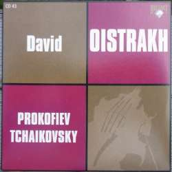 Prokofiev: Violin Concerto no. 1 & Tchaikovsky: Violin Concerto. David Oistrakh. 1 CD. Russian Archives