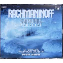 Rachmaninov: Symfoni nr. 1-3. St. Petersborg SO. Jansons. 3 CD. Brilliant Classics