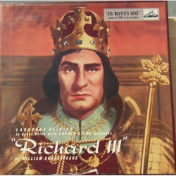 Laurence Olivier in association with London Films pressent: Richard III by William Shakespeare. 3 LP. EMI