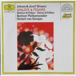 J. Strauss: Waltzes, Polkas, Marches. Karajan, Berliner Philharmoniker. 1 CD. DG
