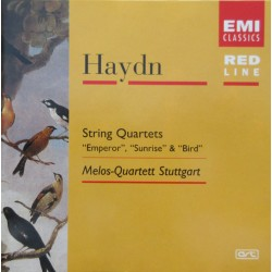 Haydn: String Quartets: Emperor, Sunrise, Bird. Melos Quartet, Stuttgart. 1 CD. EMI