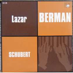 Schubert: Piano Sonata D 960 & & Schubert/Liszt: Songs transcriptions. Lazar Berman. 1 CD Russian Archives.