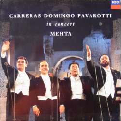 De 3 tenorer. Carreras, Domingo, Pavarotti in Concert. 1 LP. Decca. New Copy