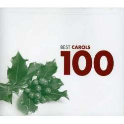 100 Best Christmas Carols. Clare College Singers, Kiri Te Kanawa, King's Singers, 6 CD. Warner
